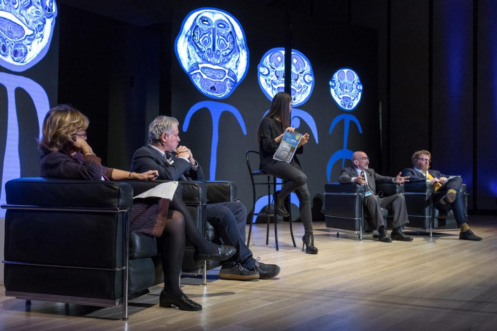 Science for Peace 2017 - 9° Conferenza mondiale presso l'aula magna dell'Università Bocconi.